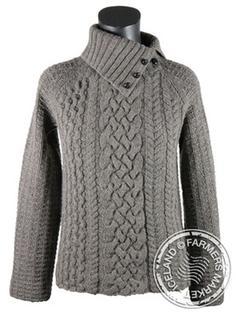 53d143f0474 Skardshlid - Icelandic Wool Sweater, merino wool, hand knitted ...