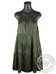 Heidi - Comfortable Icelandic Design Raw Silk Dress 1