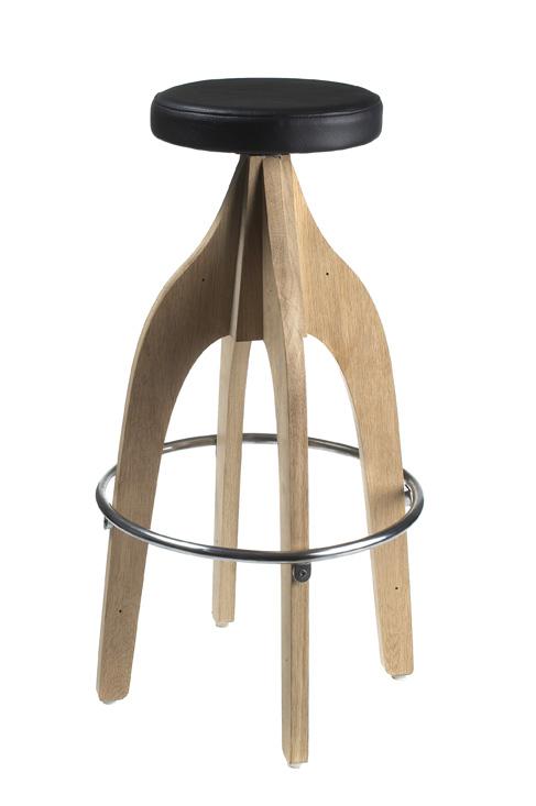 Chair W/no Back U0026 Vinyl Seat